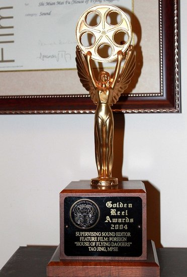 陶经凭《金陵十三钗》荣获美国最佳音效剪辑奖