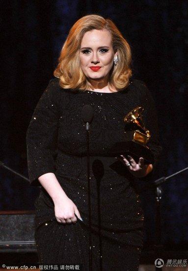 格莱美:今年不玩悬念,今年就捧Adele