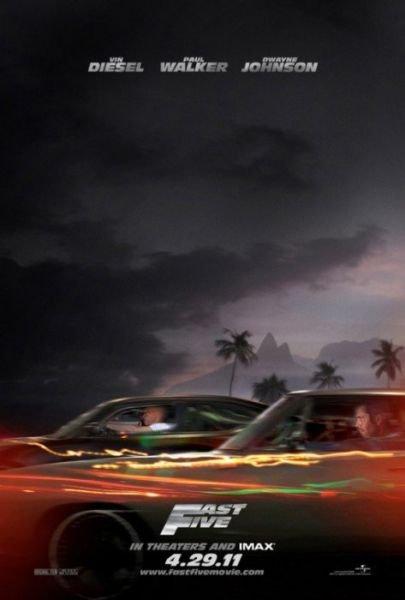 北美票房::《速度与激情5》夺冠创新纪录