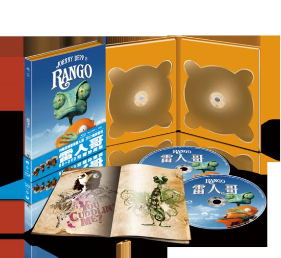 尼戴普另类西部情怀 最佳动画《兰戈》BD发行