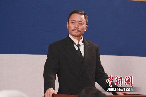 张涵予《建党伟业》饰演宋教仁 造型曝光(图)