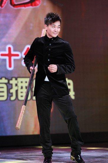 《新西游记》首播庆典 吴樾搞笑反串七仙女