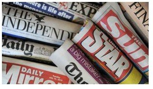 威廉王子大婚媒体争相报道 占据英报全部头版