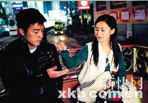 陈冠希阿娇宣传新片再聚首 两人将亮相上海电影节