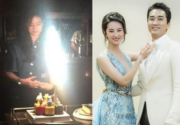 宋承宪否认与刘亦菲分手 出席了女友生日宴会(图)