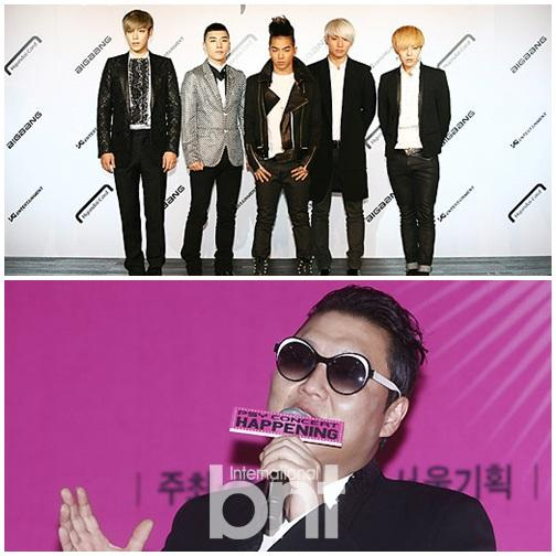 Bigbang与鸟叔PSY等18名艺人成为东家YG股东