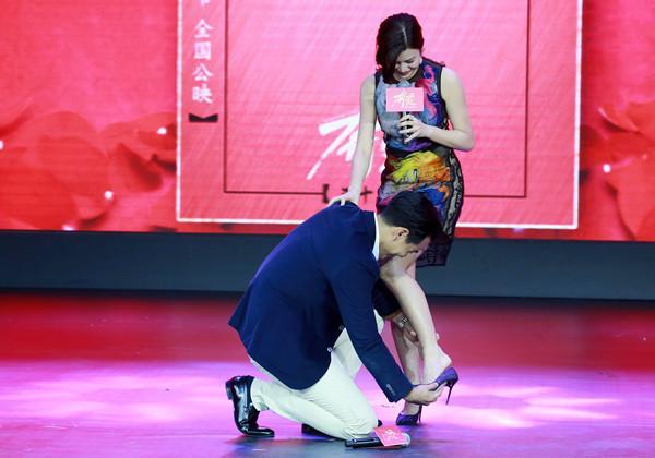 陈妍希猴年喜上加喜 《奔爱》首映与彭于晏组CP