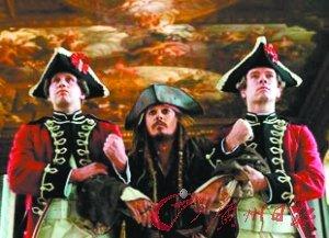 《加勒比海盗4》发正式预告片 新增僵尸美人鱼
