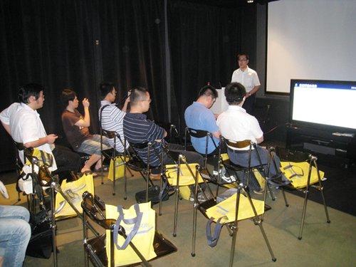 《天降美食》3D蓝光演示会举行 媲美电影院效果