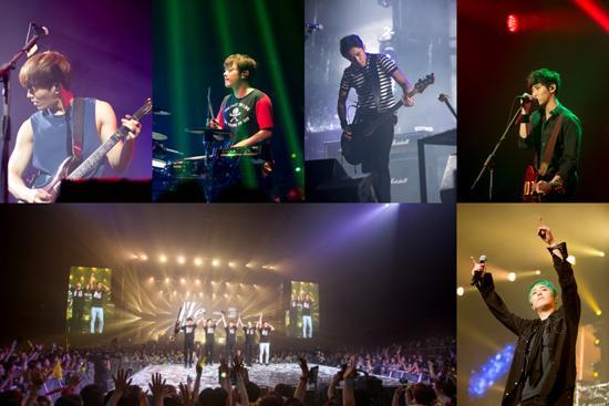 FTISLAND首尔演唱会 火热的150分钟摇滚秀