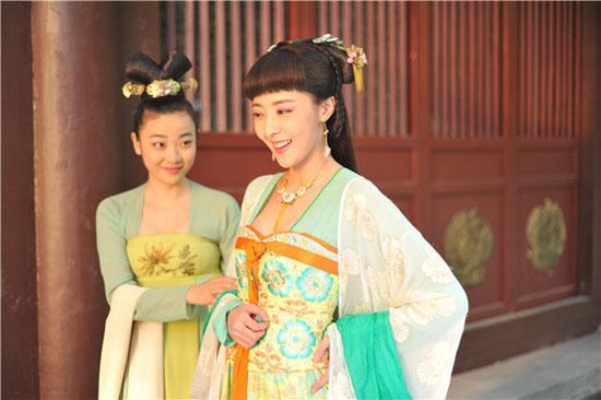 """在剧中饰演""""高阳公主""""的米露也只能在新年之际才能图片"""