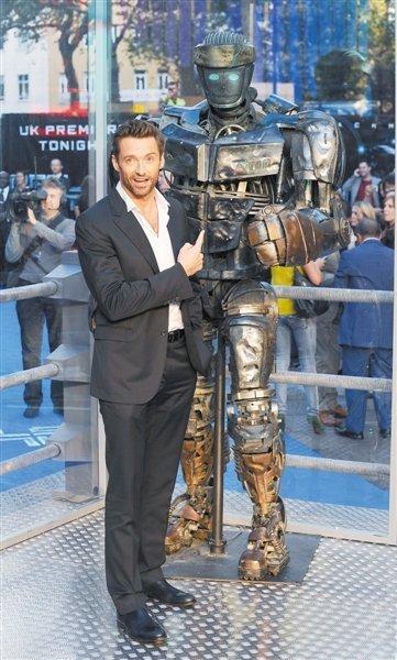 休·杰克曼:总有一天 机器人拳击赛会风靡全球