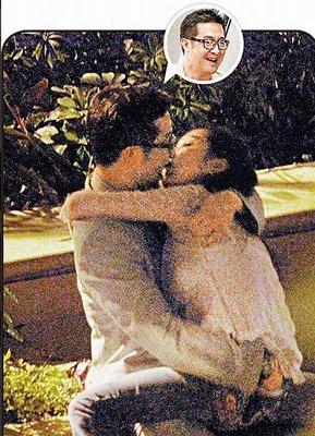 TVB前花旦为吻杨紫琼弟弟道歉 称不知对方已婚