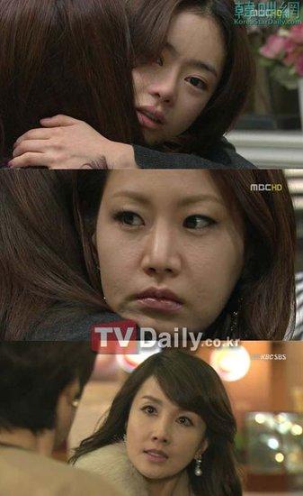 tv周末剧《微笑吧妈妈》中姜素和敏珠的师生恋也