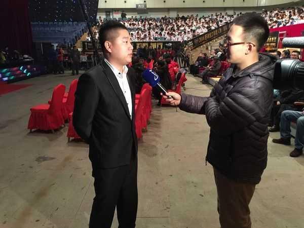 黑龙江电视台采访 快搞创始人孟庆松
