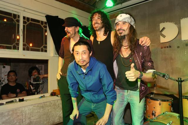 大章鱼乐队中国巡演 摇滚新教父鼎力支持