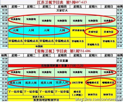 舞美师爆湖南卫视用青海卫视正面迎击江苏卫视