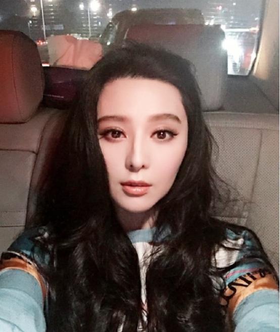范冰冰晒与李晨亲亲特效照:2016,我们来了!