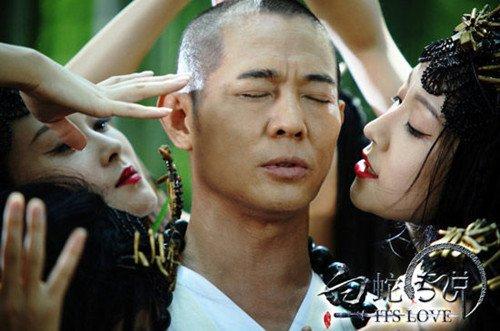 """《白蛇传说》将映 宋汶嘉饰狐妖""""诱惑""""李连杰"""