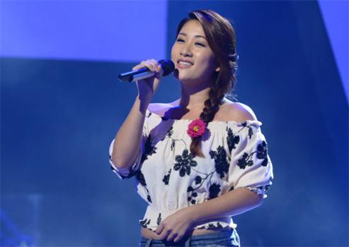 好声音刘明湘:练歌不觉累 那英老师选啥我唱啥