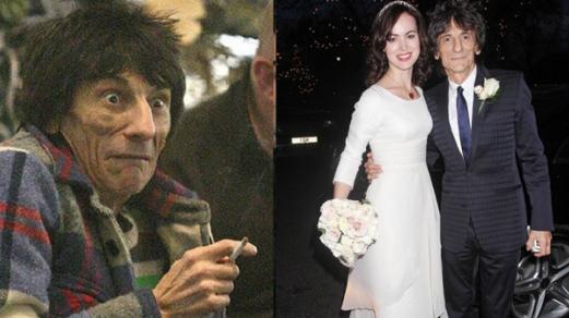 68岁滚石乐队吉他手将再当爹 妻子被曝怀双胞胎