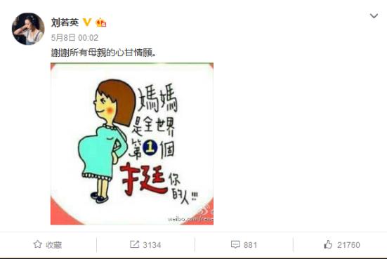 刘若英母亲节发感慨小巨蛋演出