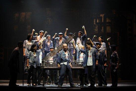音乐剧《钢的琴》巡演归来 即将登陆保利剧院