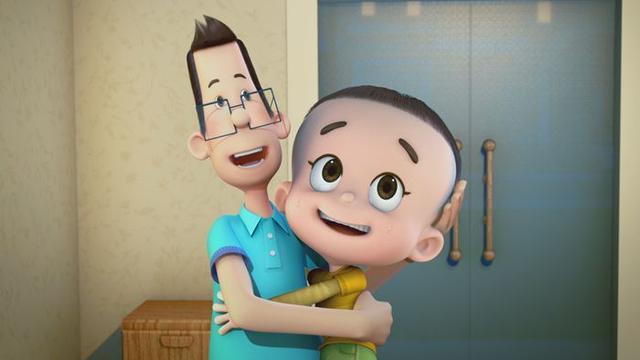 《新大头儿子》首发预告片 父子上演秘密计划