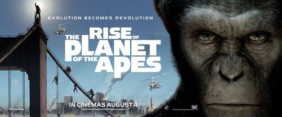 外媒赏片:《猿族崛起》--尊重观众智商的电影