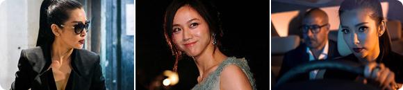 中国女明星的英文汇报演出