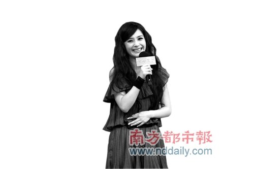 《出水芙蓉》北京首映 阿娇不介意节目镜头被删