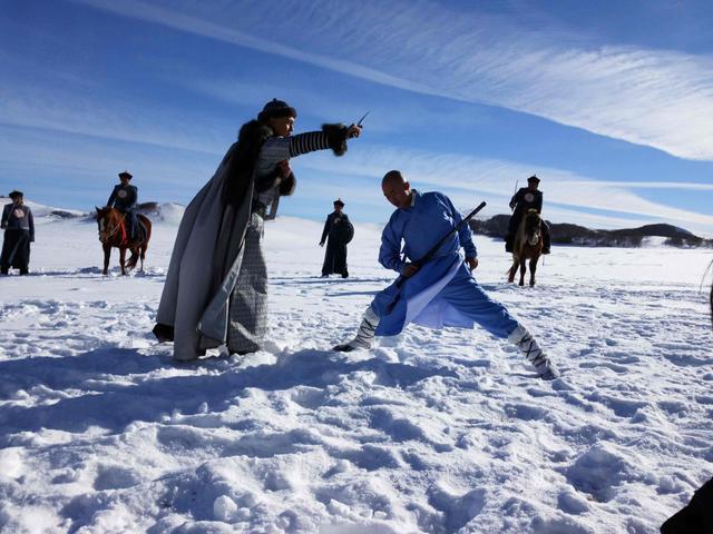 《少林寺传奇4》热拍 许明虎打戏精彩获赞许