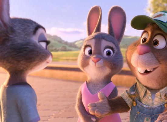《疯狂动物城》成史上第四部票房超10亿动画片