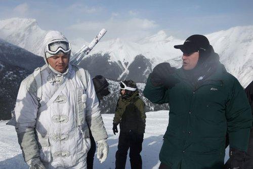 《盗梦空间》花絮之四:在真正的暴风雪里滑雪
