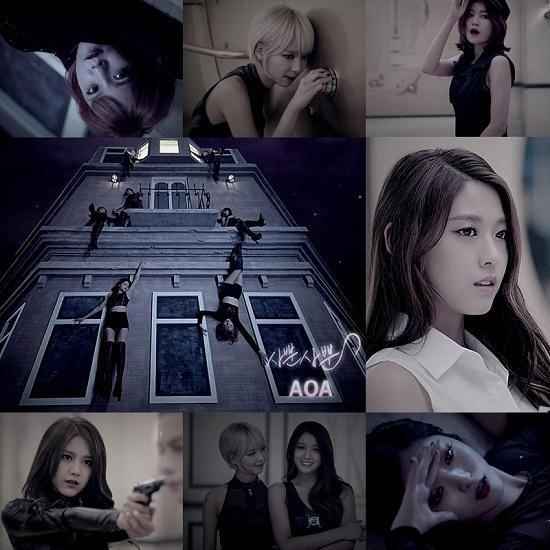 AOA新歌《猫步轻俏》公开 将列入顶级韩女团