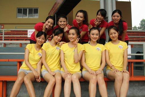 惊险刺激广州城际赛 大运之星花样少女勇往直前