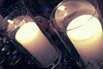 蜡烛都是日本空运来的