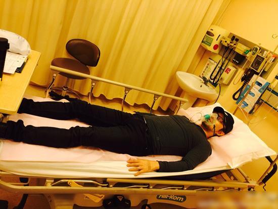 汪峰巡回演唱会结束病倒 医院输液后继续开工