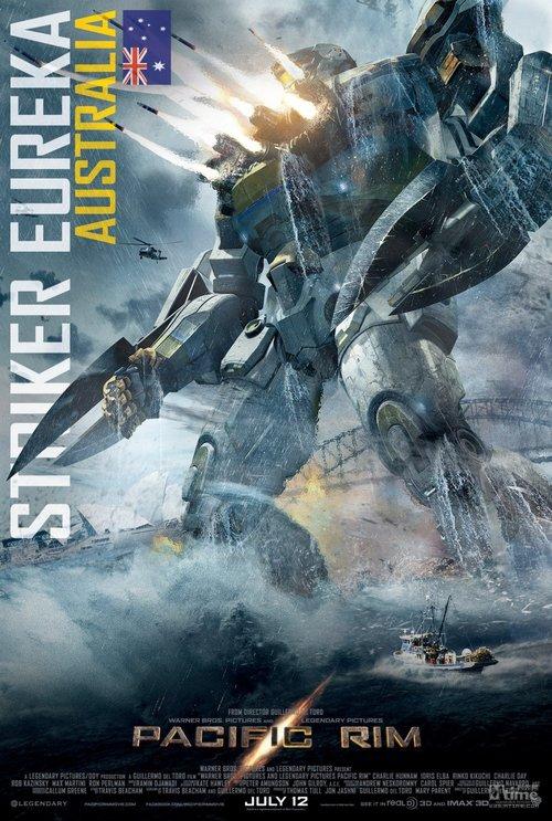 《环太平洋》五国机甲战士霸气集结 奔赴战场