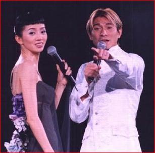 刘德华为梅艳芳铜像提字:香港的女儿