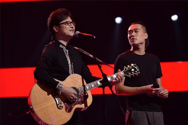 好声音耿斯汉谈偶像汪峰:无助时他的歌激励我