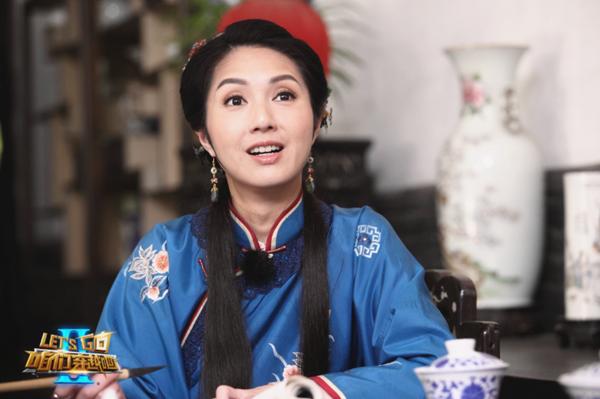 杨千嬅三度合作张国立  传《穿越2》片酬2千万