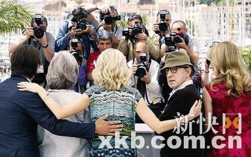 《遇见陌生人》戛纳展映 伍迪·艾伦幽默笑翻天