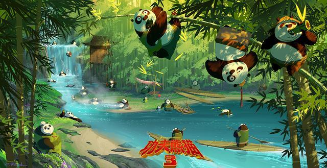 《功夫熊猫3》中国版预告 周杰伦重磅献声力赞