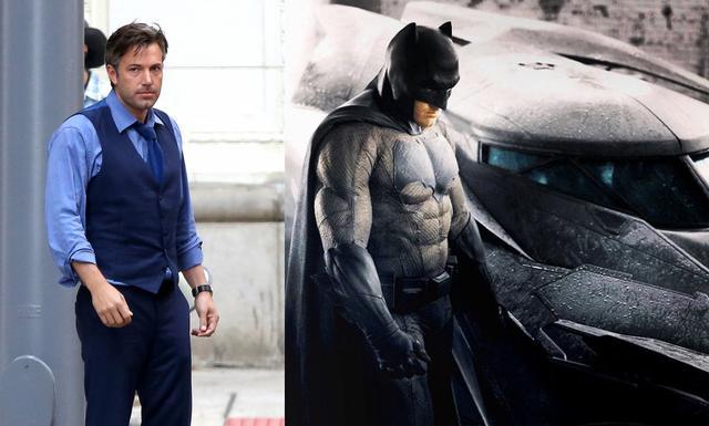 《蝙蝠侠大战超人》热拍 小本不惧批评自我减压