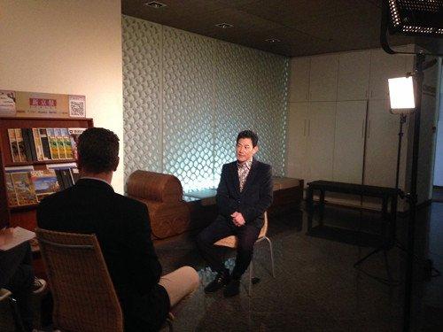 矢野浩二接受CNN专访 称为中国梦而疯狂(图)
