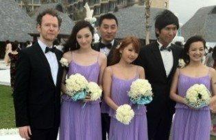 大S婚礼与汪小菲热吻20秒 好友吴佩慈抢到捧花