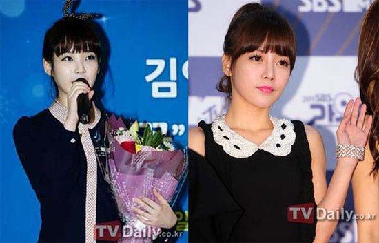 IU与T-ara素妍上演偶像版《捧日之月》 引热议