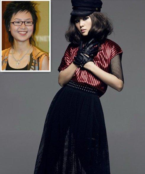 杨幂姚早谢娜蔡依林 清点美女皓星退募化史(组图)
