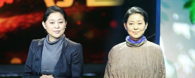 倪萍主持《等着我》节目。